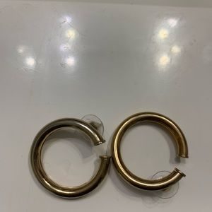 Mango thick gold hoops